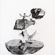 Umendra pratap singh  9x12 inch  charcol on paper 2010 mcp3684