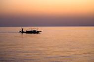 Sunderban Sunset by Gautam Vir Prashad, Image Photography, Giclee Print on Hahnemuhle Paper, Brown color