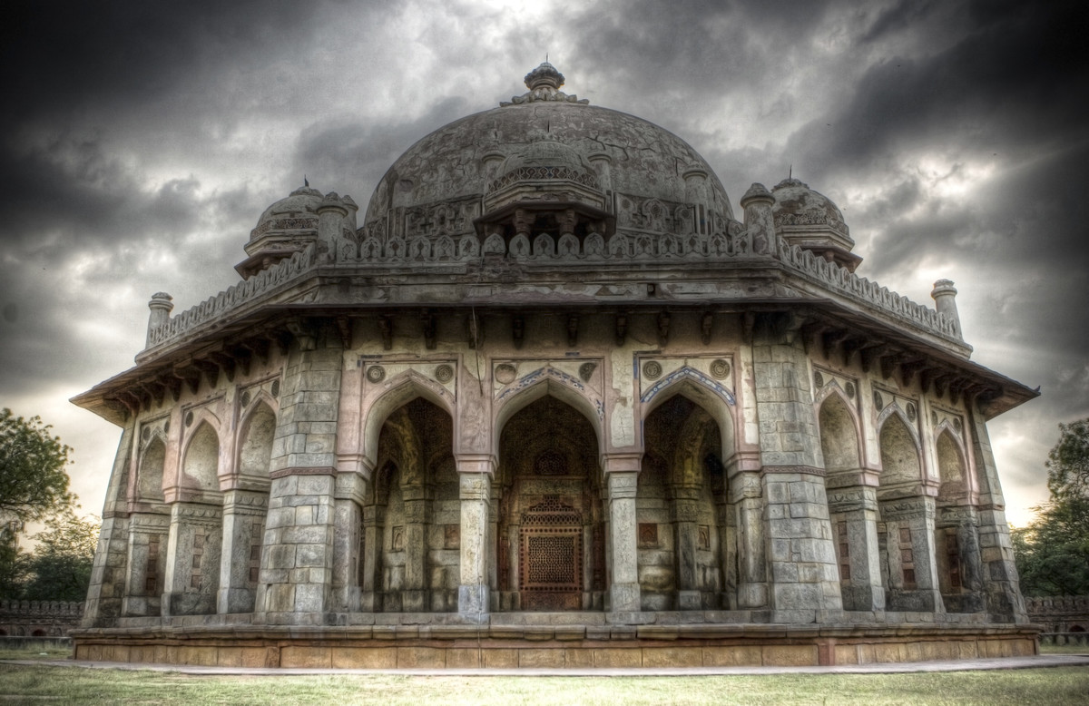 A Warriors Tomb by Gautam Vir Prashad, Image Photography, Giclee Print on Hahnemuhle Paper, Gray color