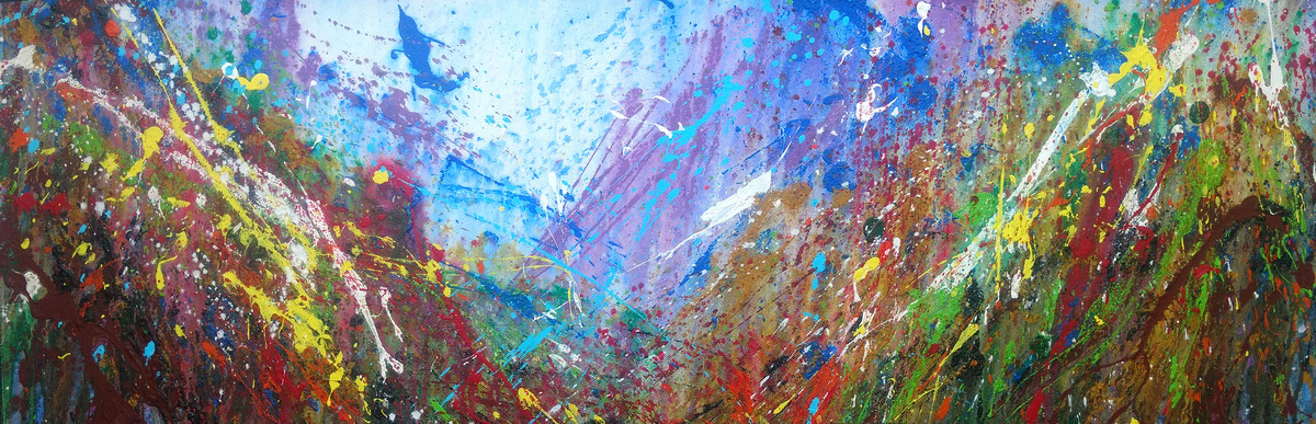 Incidental Literature of Nature pt.2 by Anshu, Abstract Painting, Acrylic on Canvas, Brown color