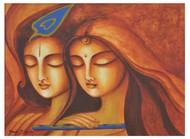 Advaitham 2 Digital Print by Uma Makala,Traditional