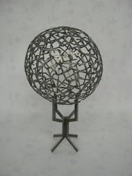 Unity by Jignesh Jariwala, Art Deco Sculpture | 3D, Iron, Gray color
