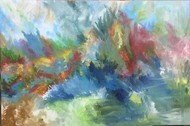 Windswept Digital Print by Tvesha Singh,Abstract