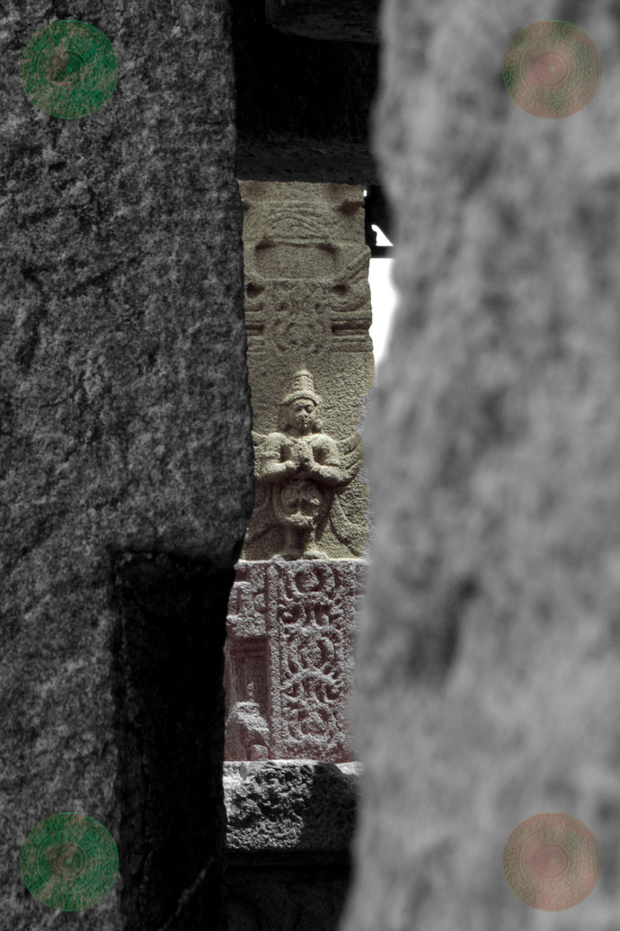 Silent Devotion by Nikhil Raj, Image Photography, Digital Print on Paper, Gray color