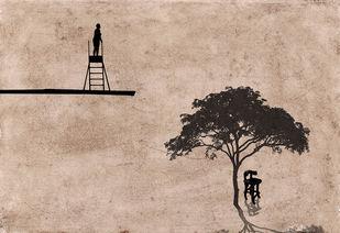 Looking For ... by Mayurakshi, Digital Digital Art, Giclee Print on Hahnemuhle Paper, Beige color