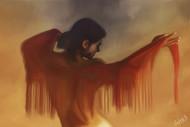 Burning Desires by Sujay Govindaraj, Digital Digital Art, Digital Print on Archival Paper, Brown color