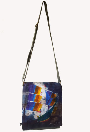 Sling bag by Indrapramit Roy Bags By indian-colours