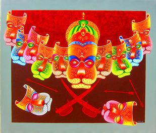 Ravana Paintings