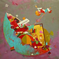 Childhood Treasure by shiv kumar soni, Expressionism Painting, Acrylic on Canvas, Brown color