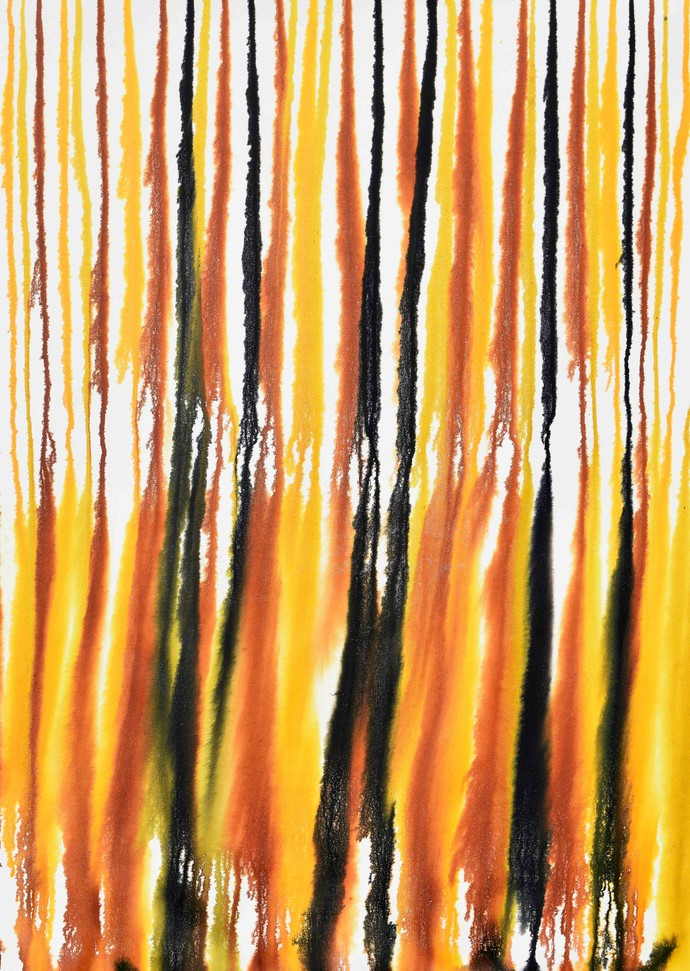 Dripology Nº16 Digital Print by Sumit Mehndiratta,Abstract