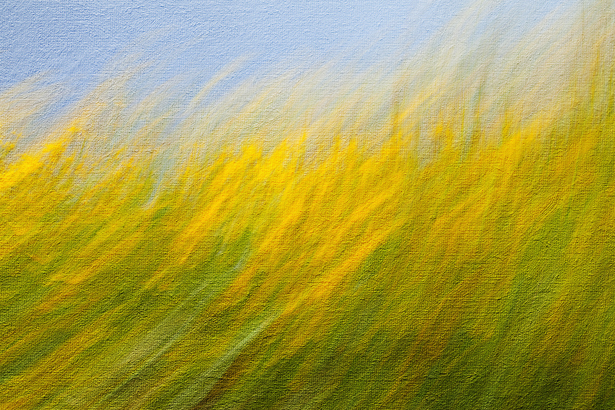 Nature's Colour by Saify Akolawala, Abstract Photography, Digital Print on Archival Paper, Green color