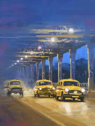 Night Light Digital Print by The Print Studio,Digital