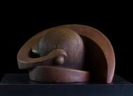 Spiral of life by Rajendra Pradhan, Art Deco Sculpture | 3D, Bronze, Black color