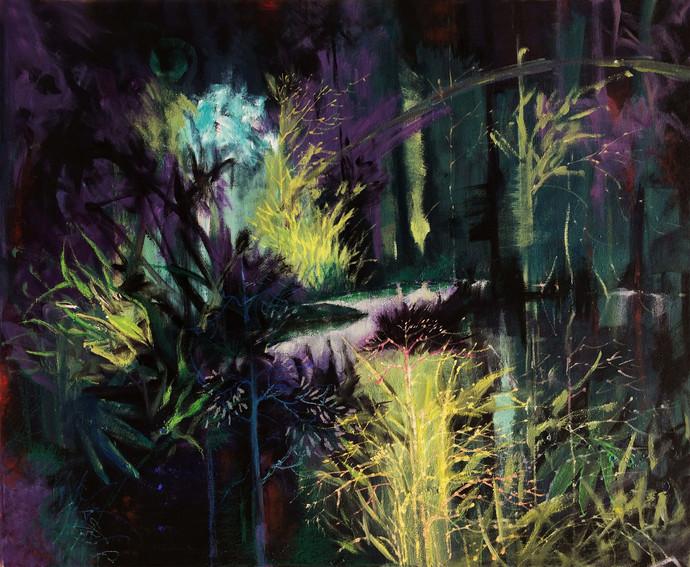Dusk Digital Print by Pradip Kate,Abstract