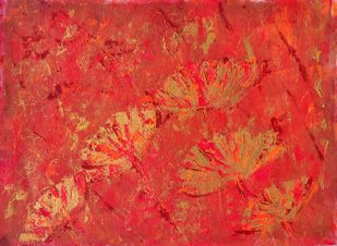Once upon a flower by Cheena Madan, Expressionism Painting, Acrylic on Canvas,