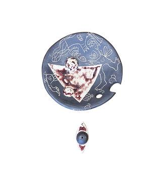 ALL EYES ON YOU 1 by Srinia Chowdhury, Art Deco Sculpture | 3D, Ceramic,