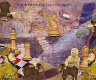 JOURNEY TO PAST AND FUTURE by ARINDAM CHAKRABORTY, Digital Digital Art, Digital Print on Paper, Orange color