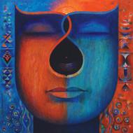 Santulan-2 by Sunil Balkawade, Geometrical Painting, Acrylic on Canvas,