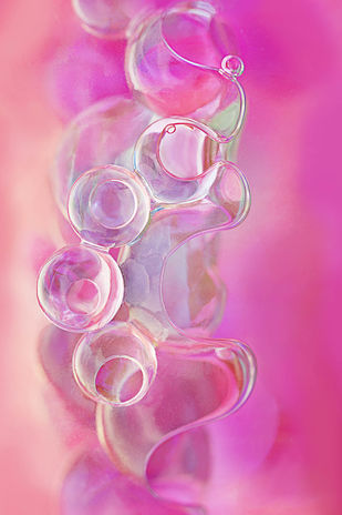 MYSTERY by SUJATA DIXIT, Image Photography, Digital Print on Archival Paper, Pink color