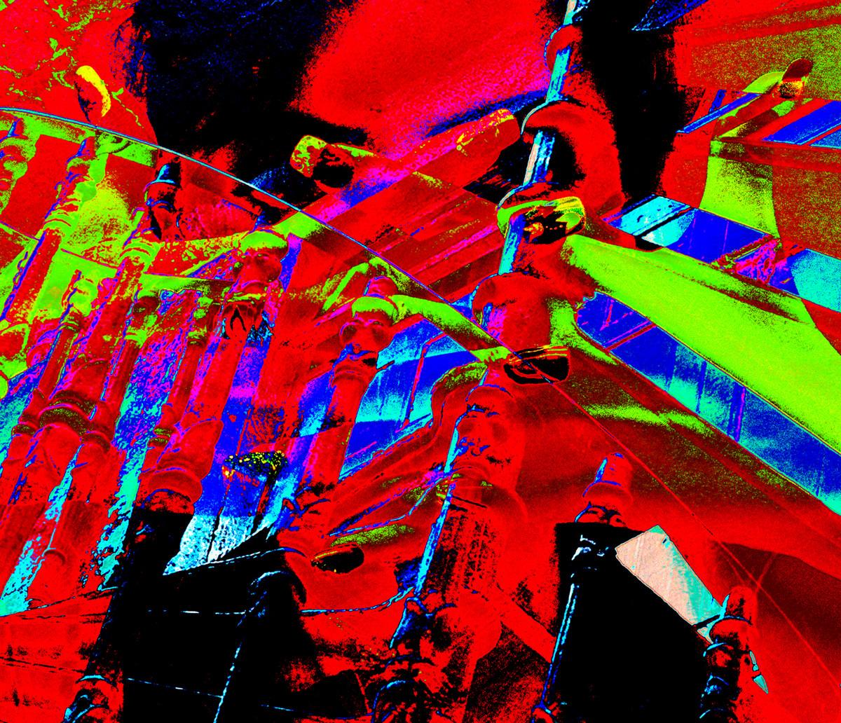 Integration 2 by Ayesha Taleyarkhan, Image Digital Art, Digital Print on Archival Paper, Monza color