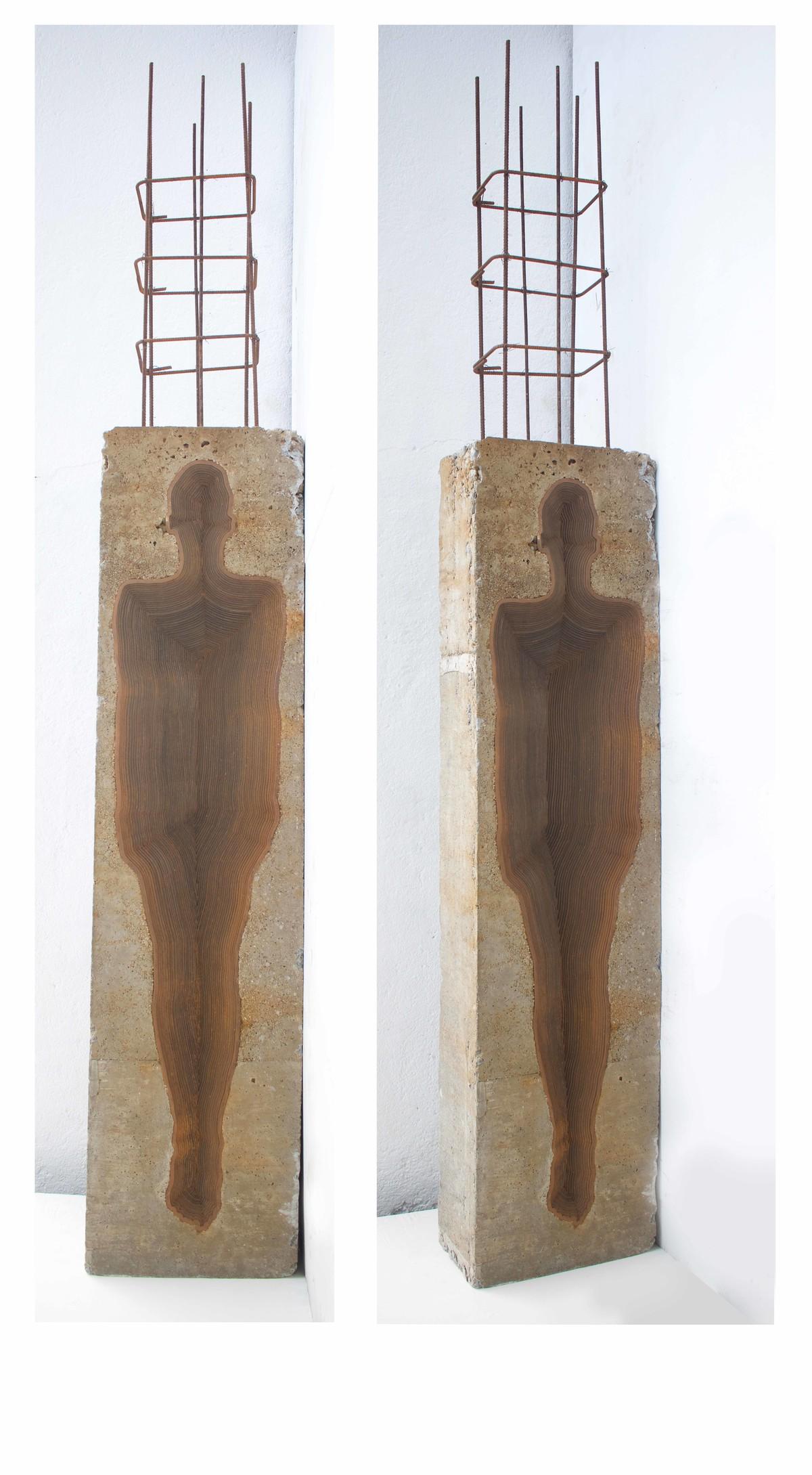 Construction by Janarthanan R, Art Deco Sculpture | 3D, Mixed Media,