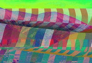 Integration 3 by Ayesha Taleyarkhan, Image Digital Art, Digital Print on Archival Paper, Americano color