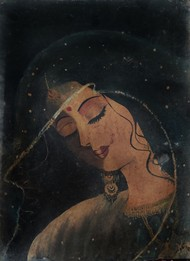 Dulhan Digital Print by Kalpana Shukla,Decorative