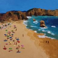 The Beach -1 Digital Print by Herendra Swarup ,Photorealism