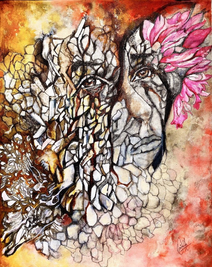 hope Digital Print by onima kashyap,Fantasy