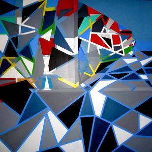 Oblivion Digital Print by Ritu Aggarwal,Geometrical