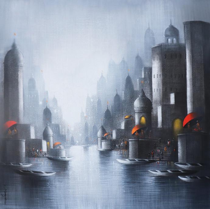 Holy Banaras By Somnath Bothe