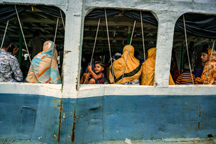 The vibe of Bangladesh by Soumyabrata Roy, Image Photography, Digital Print on Paper, Green color