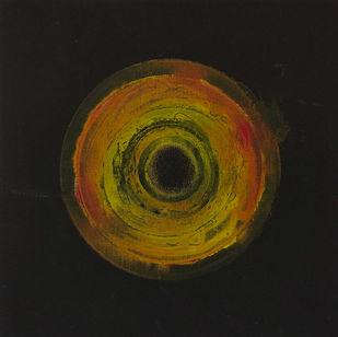 Transcending Origins 1 by Sagar Mehta, Geometrical Painting, Acrylic on Canvas, Gray color