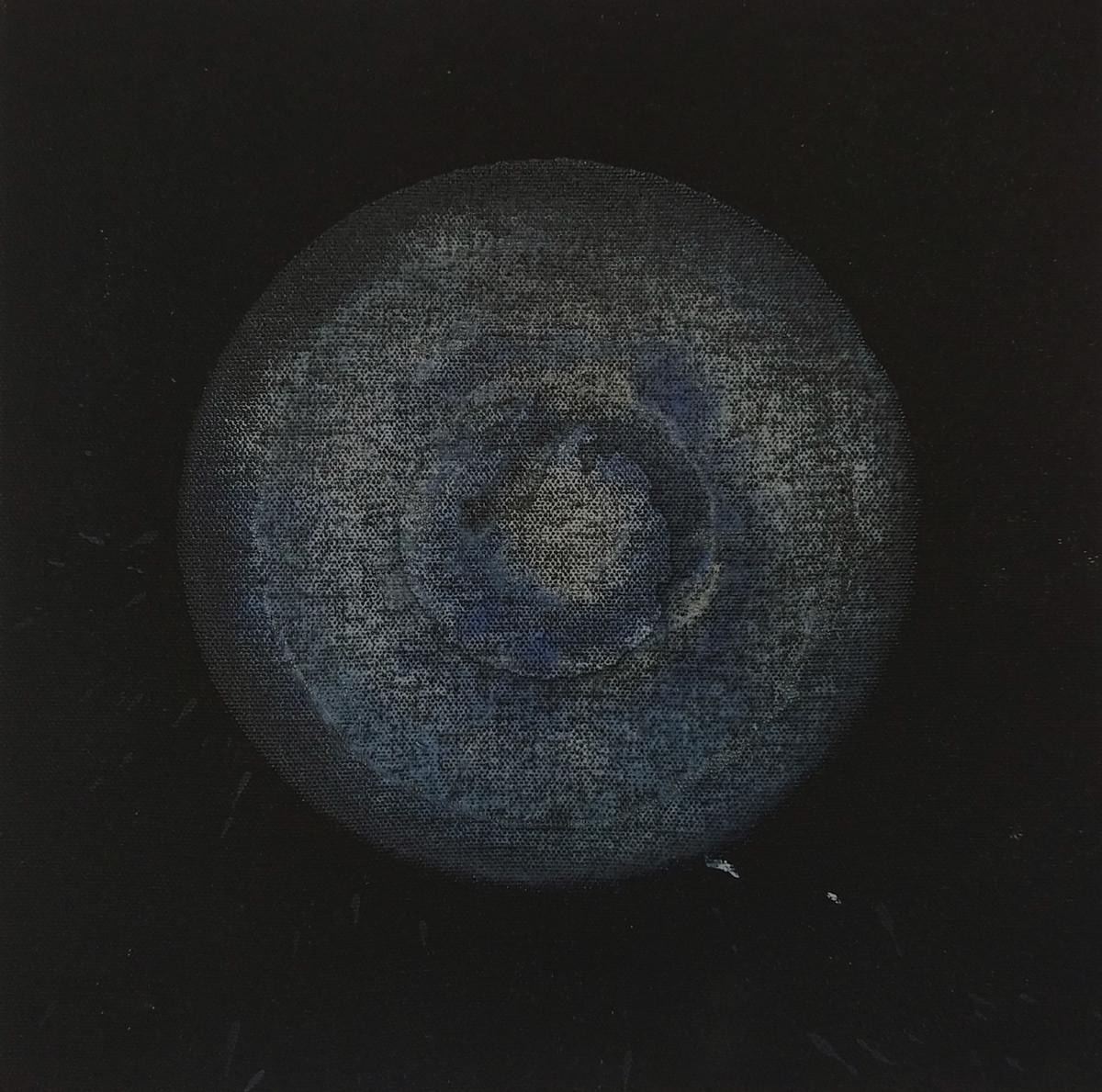 Transcending Origins 4 by Sagar Mehta, Geometrical Painting, Acrylic on Canvas, Gray color