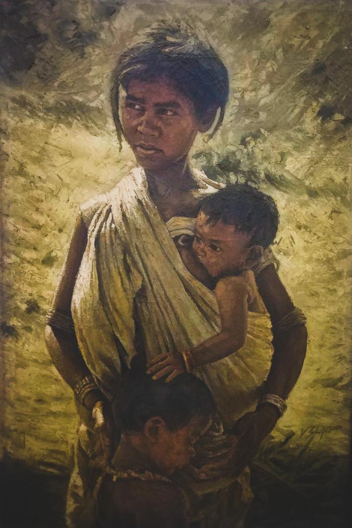 Motherhood Breaking Poverty By Vidhya Sagar Tayal