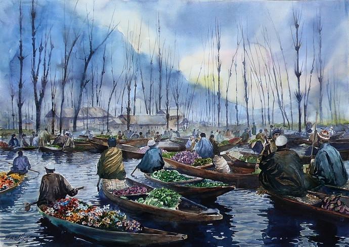 Vegetable Market By Masood Hussain