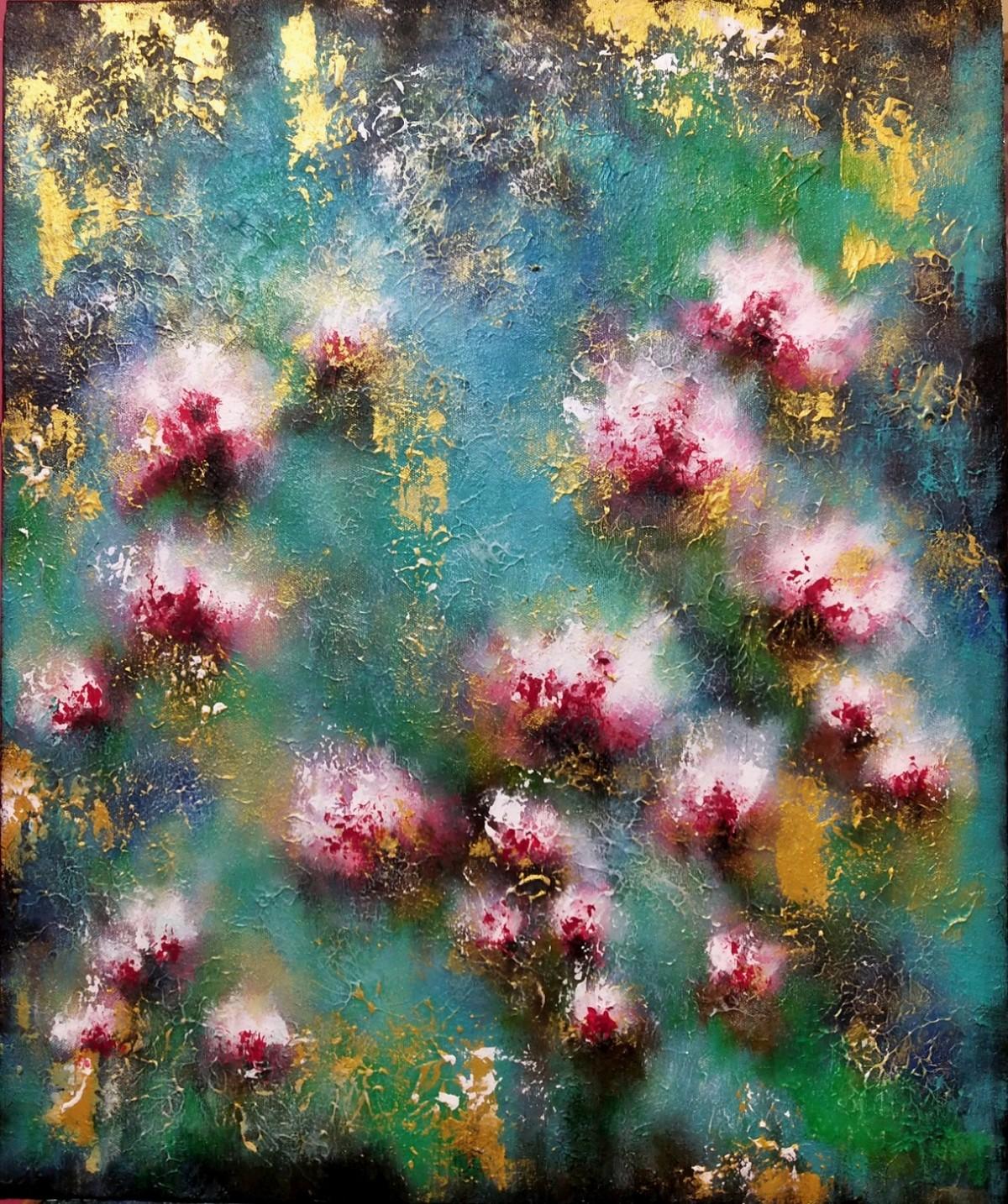 Blossom 1 Digital Print by Ankita Dey Bhoumik,Expressionism