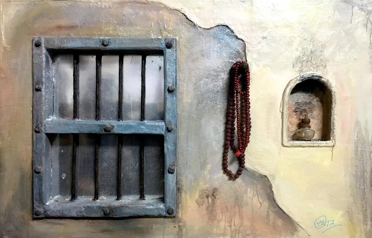 Window by Sumit Mishra, Art Deco Sculpture | 3D, Mixed Media,
