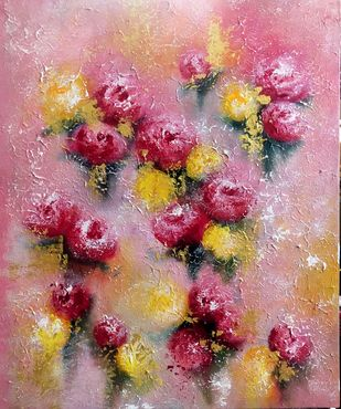 Blossom 2 Digital Print by Ankita Dey Bhoumik,Impressionism