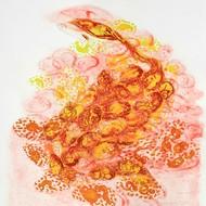 Kavita nayar title seeds of love size 35x49 cms 2017  etching ii