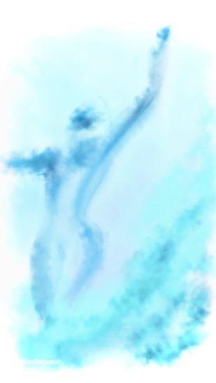 Rooh by Lokesh Sharma, Abstract Digital Art, Digital Print on Canvas, Foam color