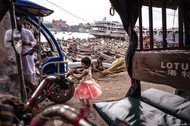 Old Dhaka by Soumyabrata Roy, Image Photography, Digital Print on Paper,