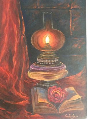 Hope by Sarita Ganla, Expressionism Painting, Oil on Canvas,