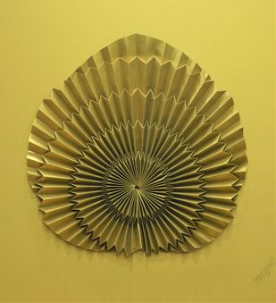 Born to Fly by Asha Gulati, Art Deco Sculpture | 3D, Hand Cut Paper, Roti color