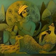 Pbr tmp 01 prabal roy untitled 36in x 48in %2891.4cm x 121.9cm%29 acrylic on canvas