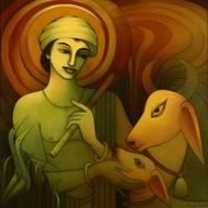 Pbr tmp 04 prabal roy untitled 36in x 36in %2891.4cm x 91.4cm%29 acrylic on canvas