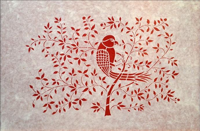 Sanjhi Art By Unknown Artist