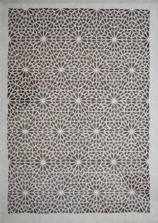 Sanjhi Art by Unknown Artist, Folk Painting, Hand Cut Paper,