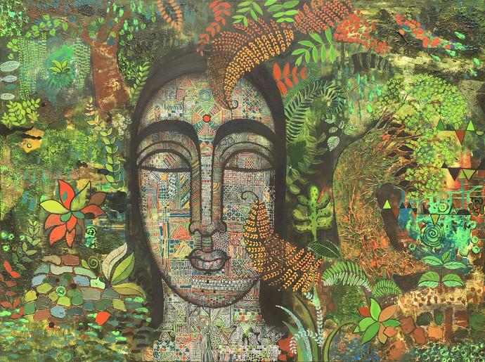 Peace Of Nature I By Mamata Shingade