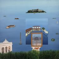 Kaleidoscopic reflections Digital Print by Nivedita Pande,Expressionism